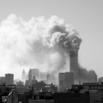 019 - 10.20AM - north tower burning