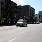 046 - 12.15PM - 10th Ave at 26th st. - empty streets and overshadowing smoke