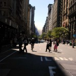 057 - 1PM - 5th ave looking south, smoke in the distance