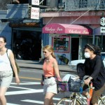 109 - Thu 1PM - woman wearing face mask